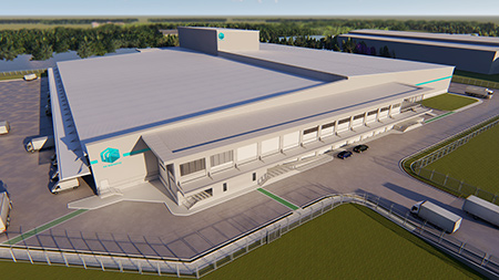 Order received for Thailand's largest refrigerated distribution center facility