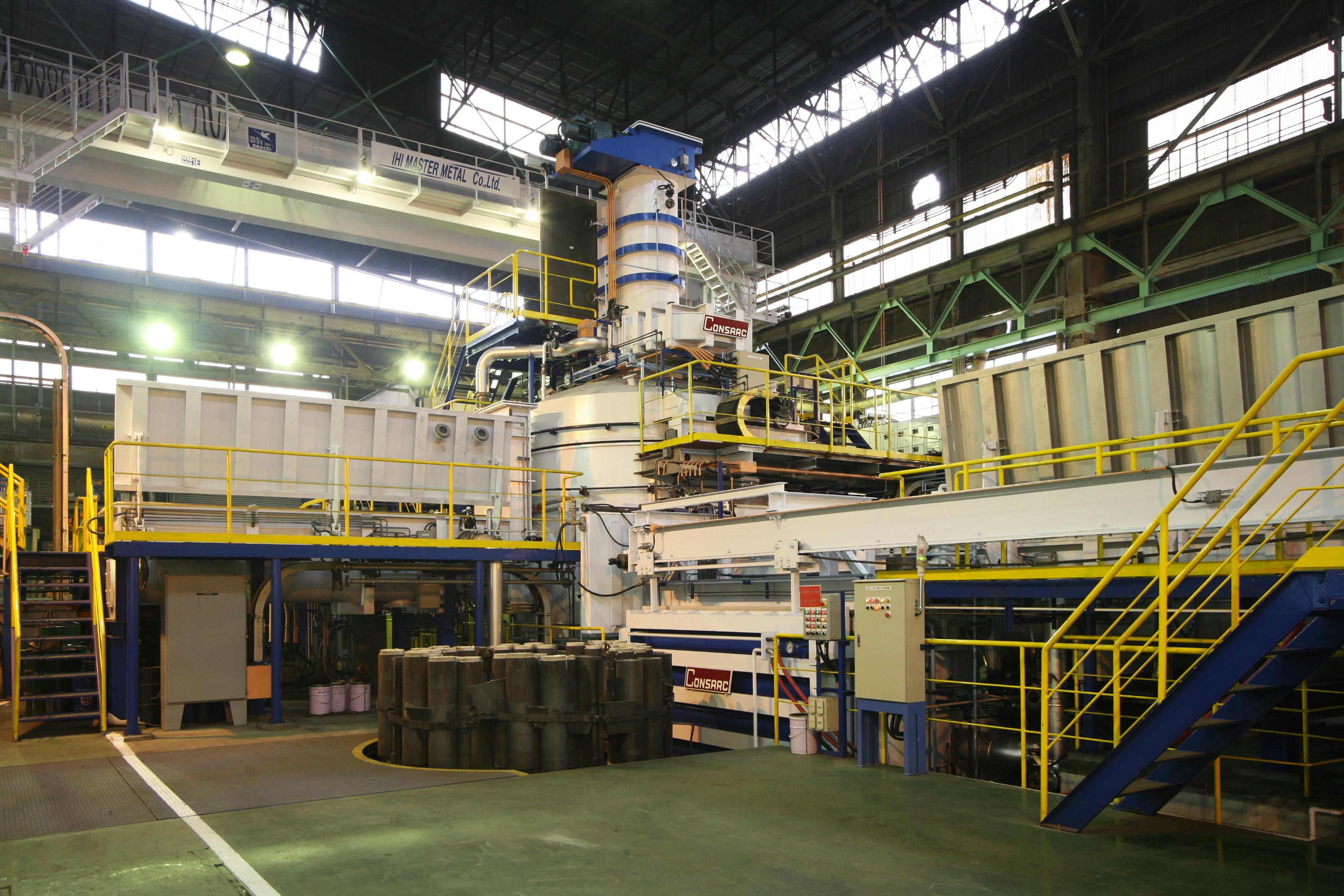 Number2 VIM Melting Facility IHI Master Metal Co ,Ltd