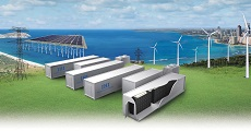 Grid Scale Energy Storage System