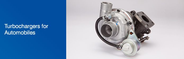 Turbochargers for Automobiles